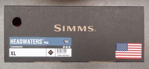 シムス ヘッドウォータープロ US-XL