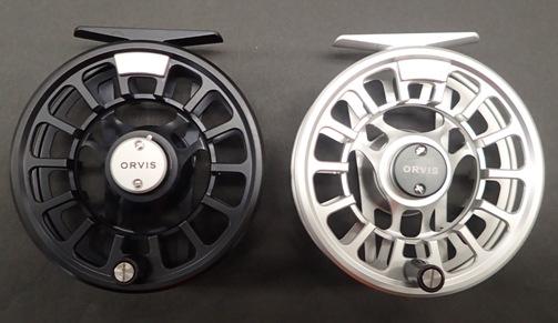 ORVIS オービス ハイドロスⅣ ブラックとシルバー